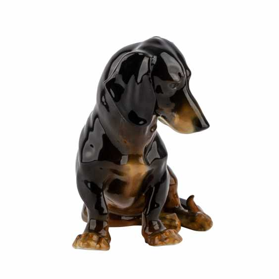"Animal Figurine ""Dachshund"", 20. Century - photo 5"