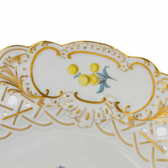 MEISSEN Pair of ornamental plates, 20. Century - photo 3