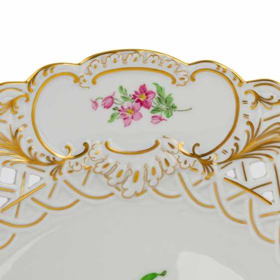 MEISSEN Pair of ornamental plates, 20. Century - photo 4