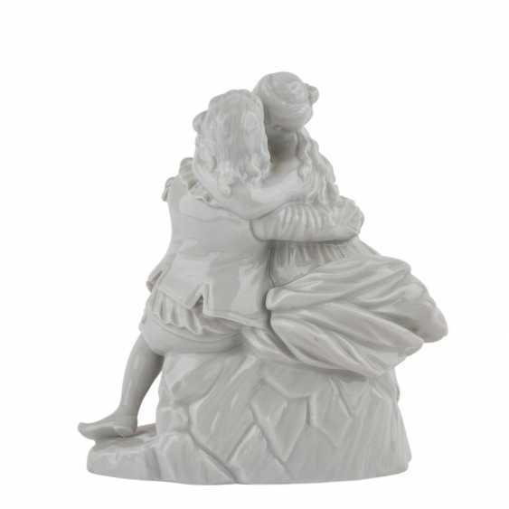 "Mountain figure group of PRINCE's ""love couple"", 20. Century - photo 3"