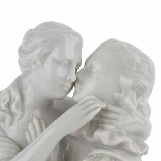 "Mountain figure group of PRINCE's ""love couple"", 20. Century - photo 5"