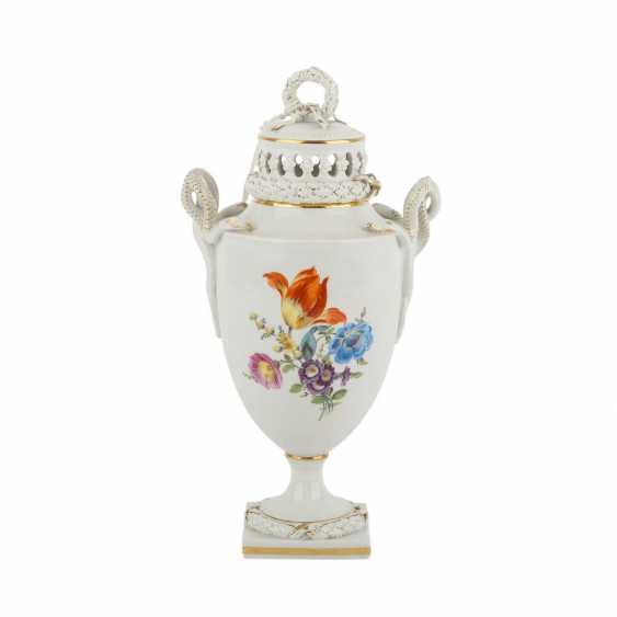 MEISSEN snake handle vase, 20. Century - photo 1