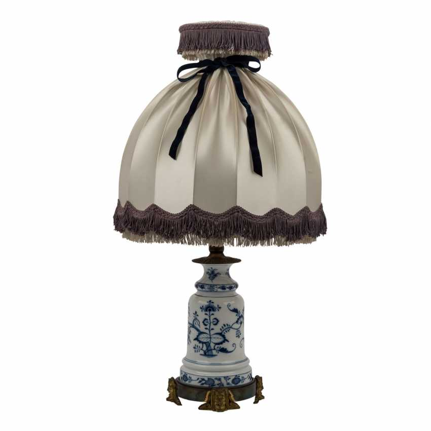 MEISSEN table lamp, before 1888. - photo 1