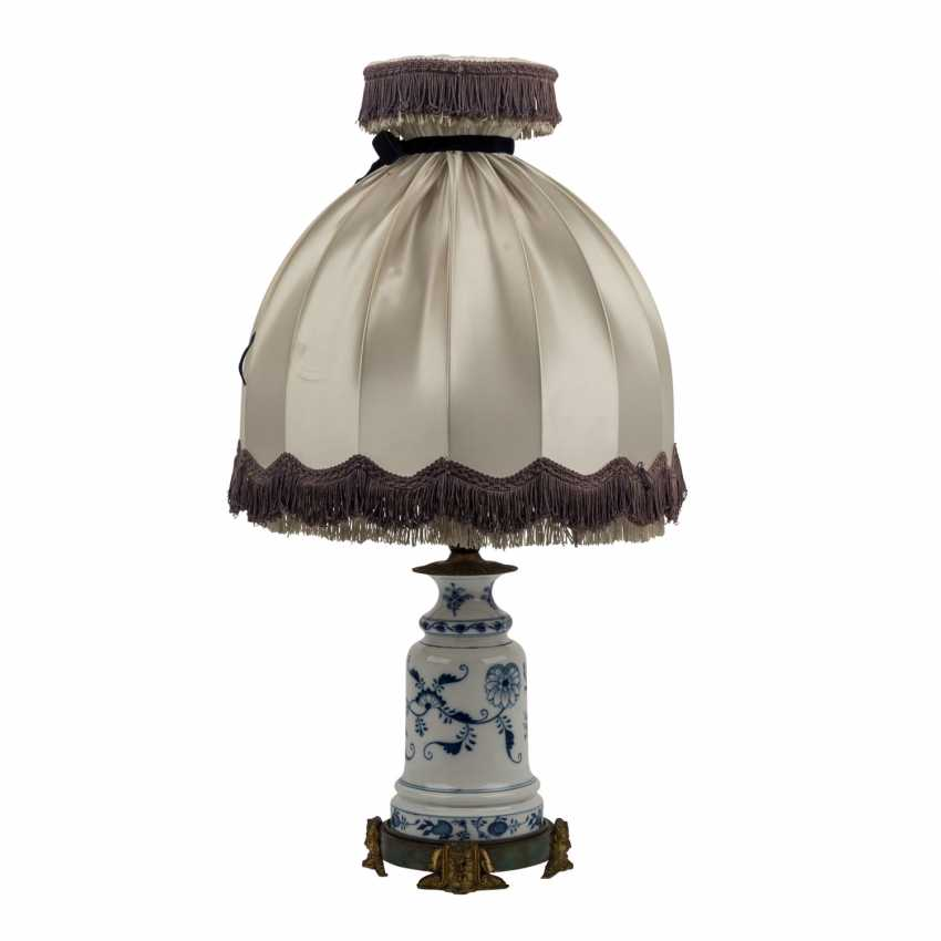 MEISSEN table lamp, before 1888. - photo 2