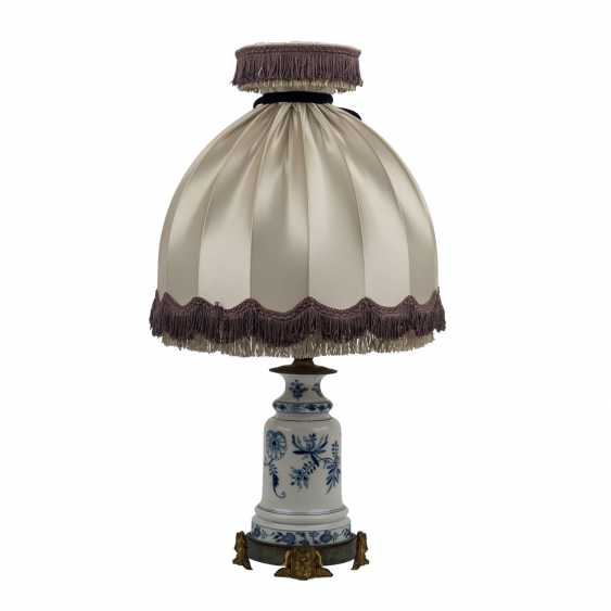 MEISSEN table lamp, before 1888. - photo 3