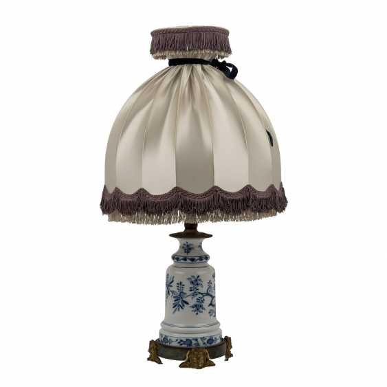 MEISSEN table lamp, before 1888. - photo 4