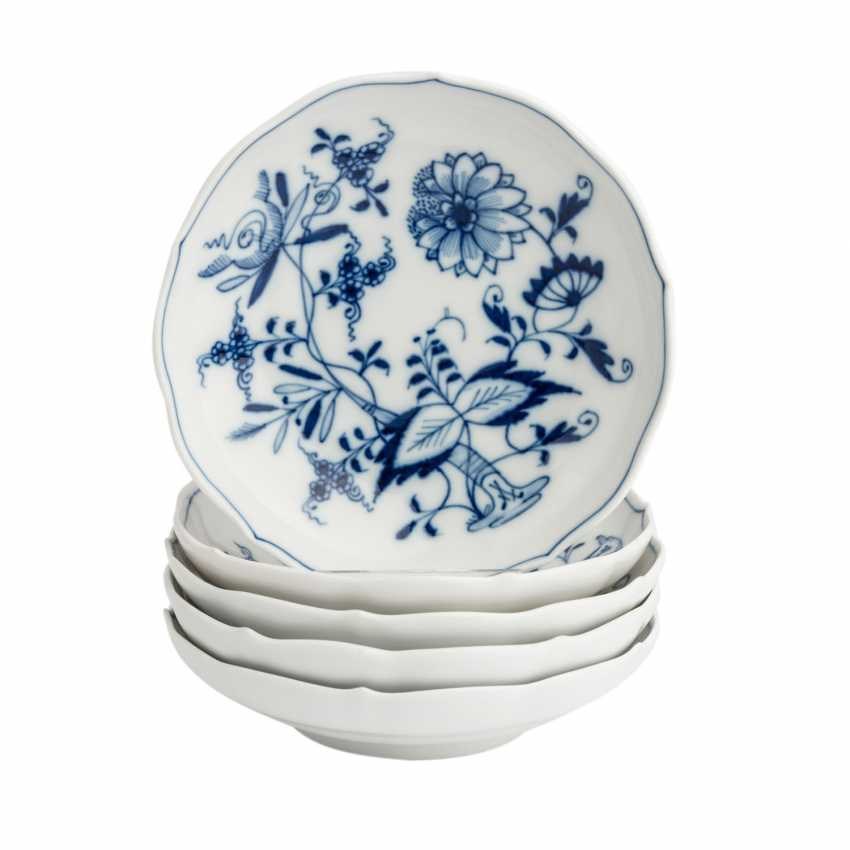 MEISSEN group of 'onion pattern', 1. Half of the 20. Century: - photo 4
