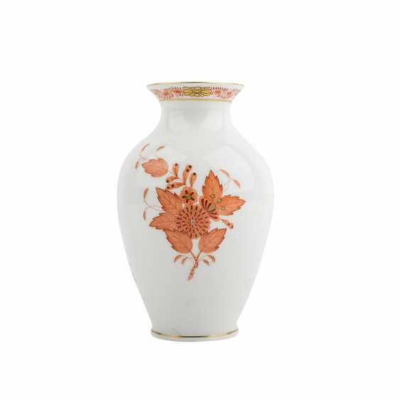 HEREND small our vase vial, 20. Century - photo 1