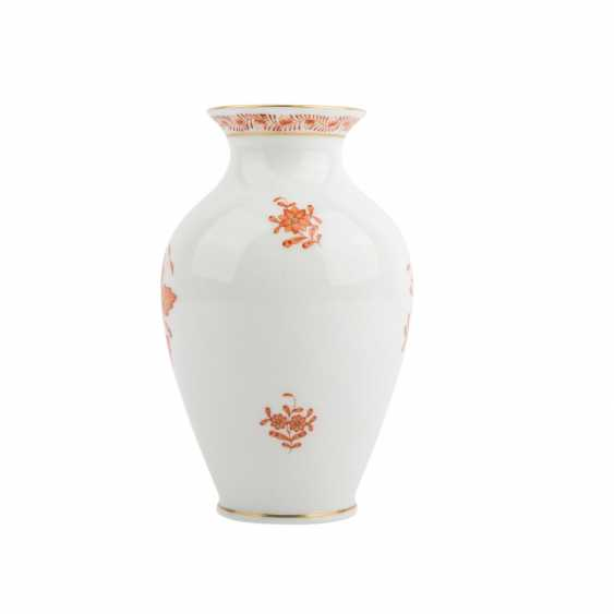 HEREND small our vase vial, 20. Century - photo 2