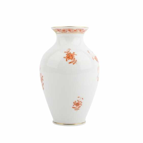 HEREND small our vase vial, 20. Century - photo 4