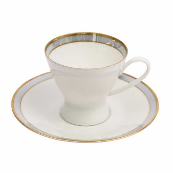 ROSENTHAL coffee service for 12 persons 'Form 2000 Gala blue', 20. Century - photo 3