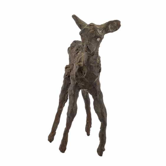 "GERDES, HANS ( 1906-1979 ) ""deer"" - photo 1"