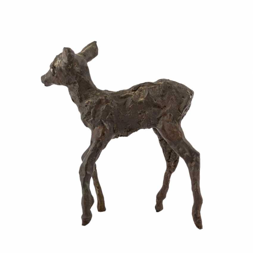 "GERDES, HANS ( 1906-1979 ) ""deer"" - photo 2"