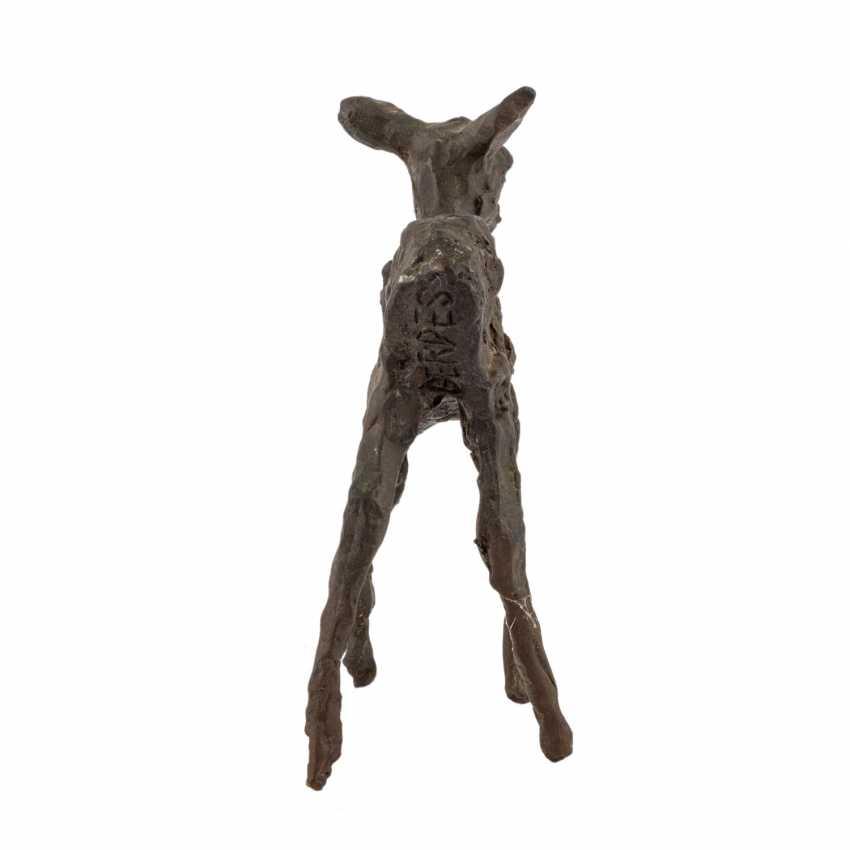 "GERDES, HANS ( 1906-1979 ) ""deer"" - photo 3"