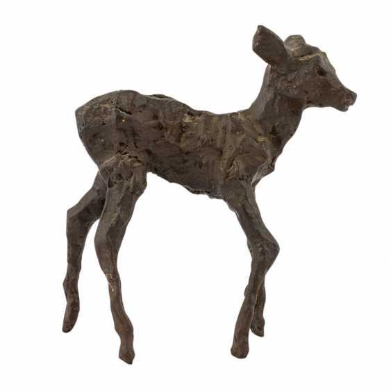"GERDES, HANS ( 1906-1979 ) ""deer"" - photo 4"