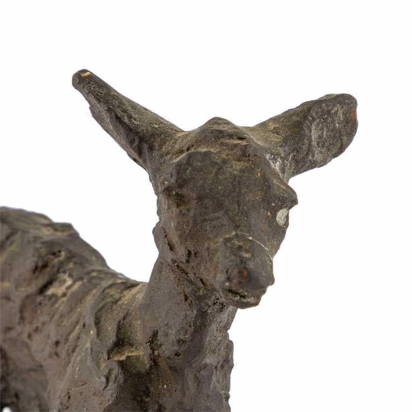 "GERDES, HANS ( 1906-1979 ) ""deer"" - photo 5"