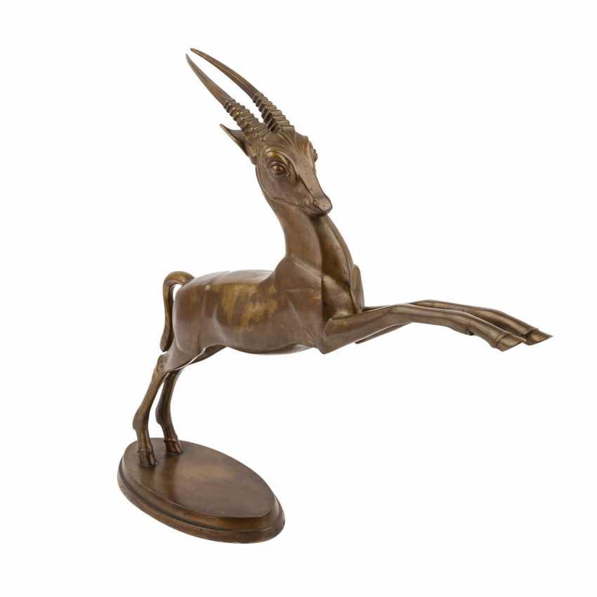 "Monogram mist ""R. P."" ""Jumping antelope"", 20. Century - photo 1"