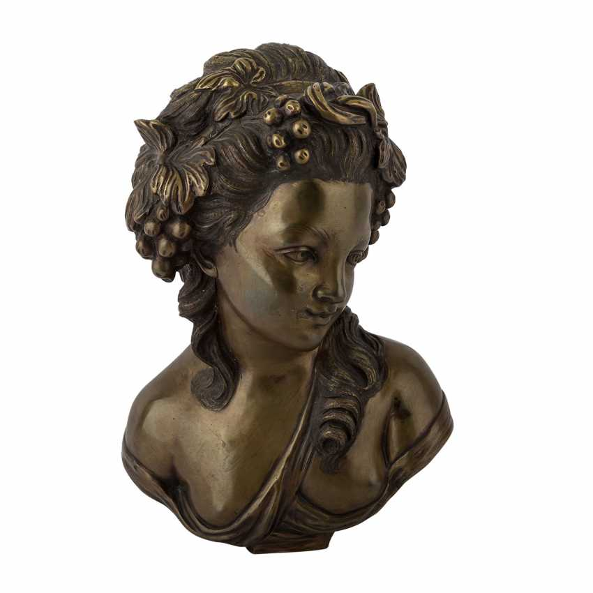"CORBANI, R. (the Italian artists of the 19th century./20. Century), ""bust of a girl"". - photo 4"