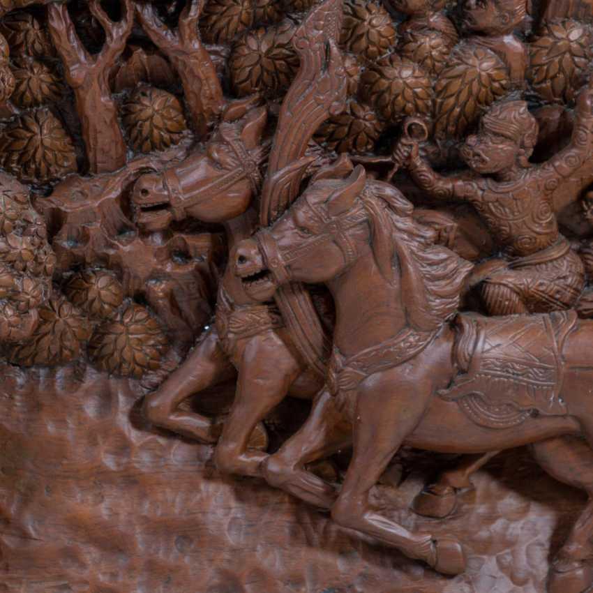 "THAILAND, 20. Century., ""Wall relief"" - photo 6"
