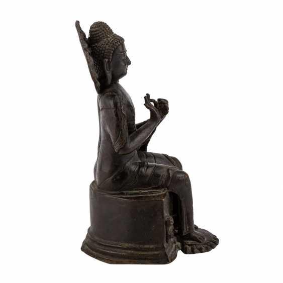 Buddha Maitreya aus Bronze. - Foto 5