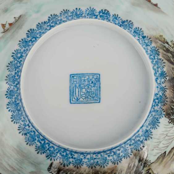 Bowl of egg-shell porcelain. CHINA, 20. Century. - photo 5