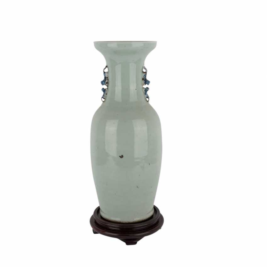 Floor vase with celadon glaze. CHINA, 1. Half of the 20. Century. - photo 3