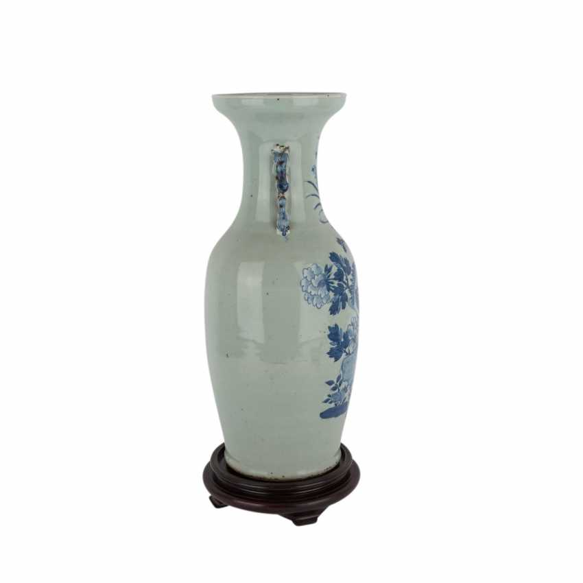 Floor vase with celadon glaze. CHINA, 1. Half of the 20. Century. - photo 4