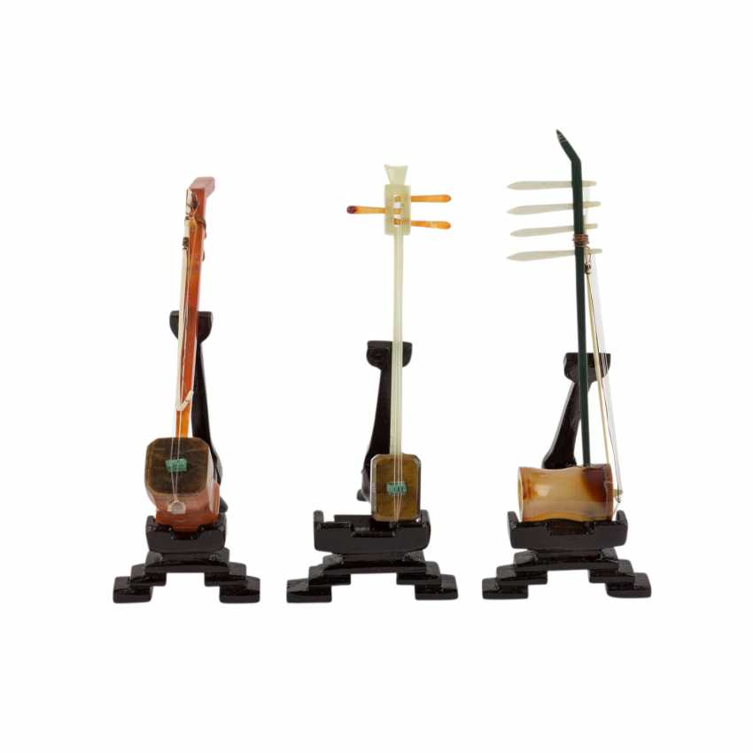 Model set of ten miniature instruments. CHINA, 20. Century. - photo 4