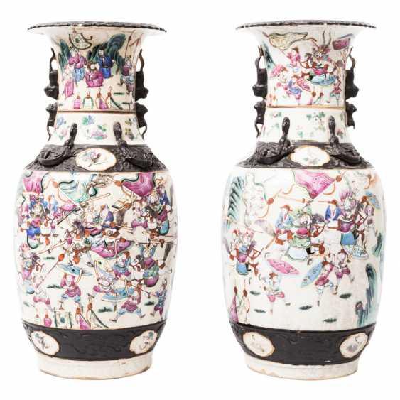 Pair Of Vases. CHINA, 19. Century. - photo 1