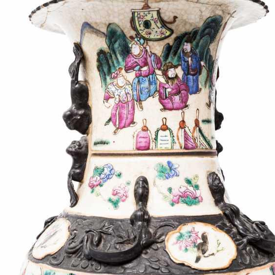 Pair Of Vases. CHINA, 19. Century. - photo 3