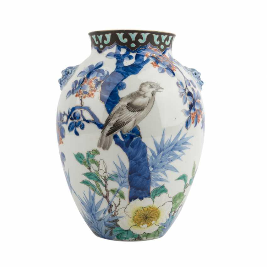 Vase made of porcelain. JAPAN, Taisho period (1912-1926) - photo 1