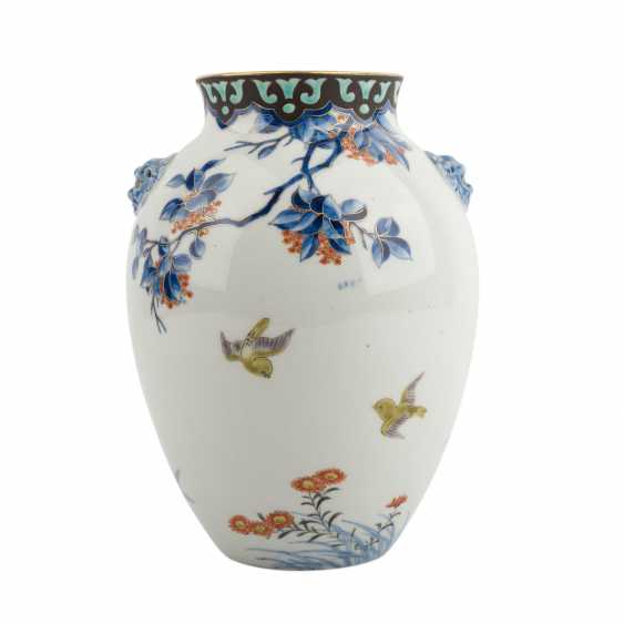 Vase made of porcelain. JAPAN, Taisho period (1912-1926) - photo 3