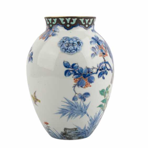 Vase made of porcelain. JAPAN, Taisho period (1912-1926) - photo 4