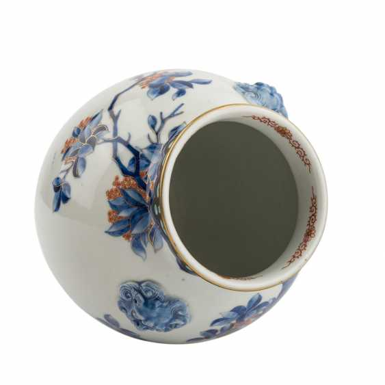 Vase made of porcelain. JAPAN, Taisho period (1912-1926) - photo 5