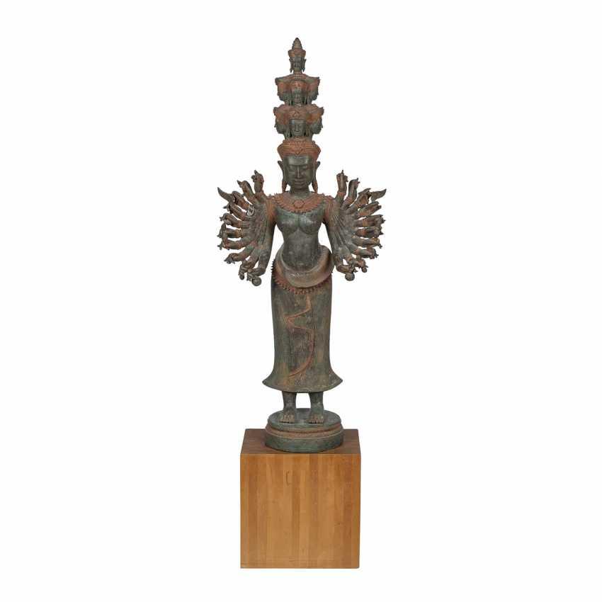 Hindu goddess of metal. INDIA, 20. Century. - photo 2