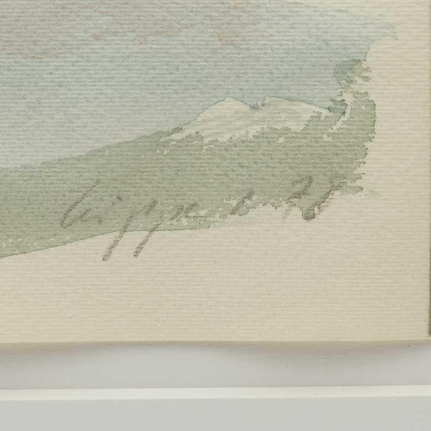 """LEIPPERT, JÜRGEN (geb. 1944), """"Blumenbouquet in Glasvase"""", - Foto 3"""