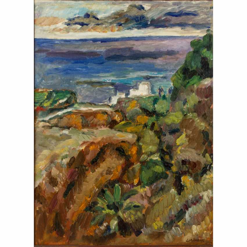 "LEHMANN, ALFRED (Stuttgart 1899-1979), ""Tenerfiffa"", - photo 1"
