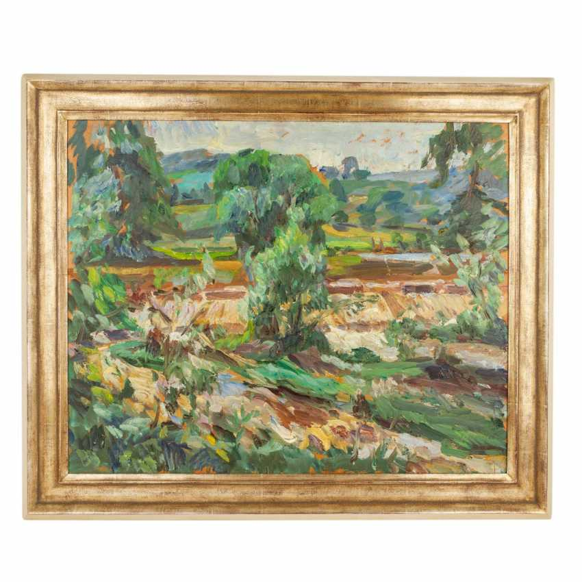 "LANDSPERGER, HORST (geb. 1943), ""Südliche Landschaft"", - Foto 2"