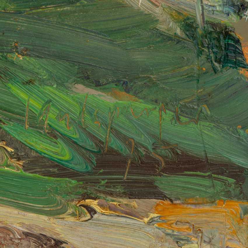 "LANDSPERGER, HORST (geb. 1943), ""Südliche Landschaft"", - Foto 3"