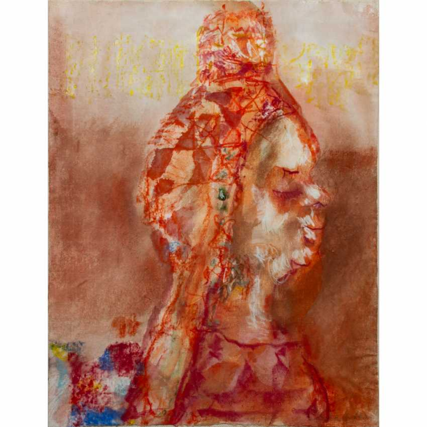 """WACHTER, EMIL (1921-2012, Prof.), """"old Queen (Batsheba)"""", - photo 1"""