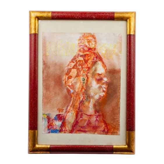 """WACHTER, EMIL (1921-2012, Prof.), """"old Queen (Batsheba)"""", - photo 2"""