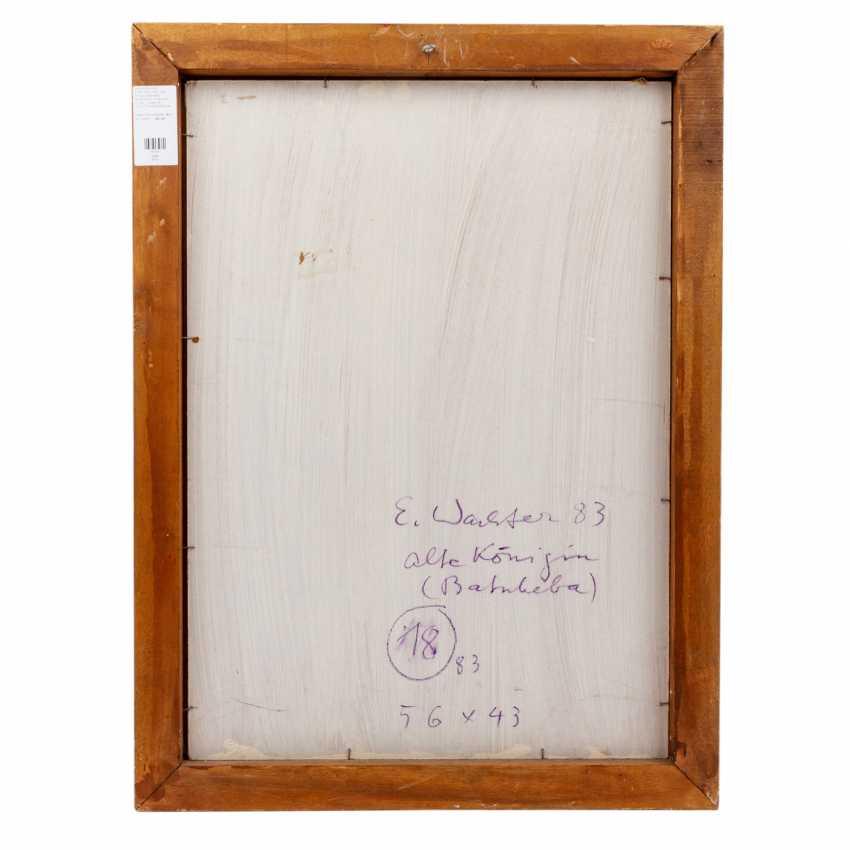 """WACHTER, EMIL (1921-2012, Prof.), """"old Queen (Batsheba)"""", - photo 6"""