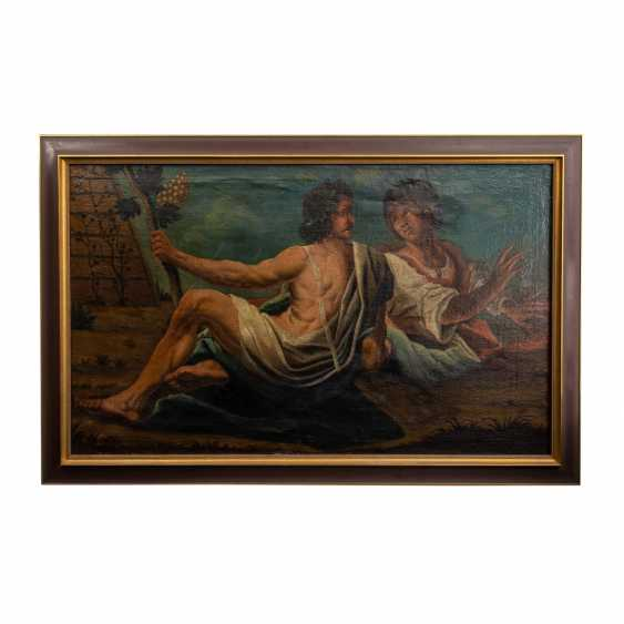 "PAINTER of the 18th century. Century, ""Bacchus and Ariadne"", - photo 2"