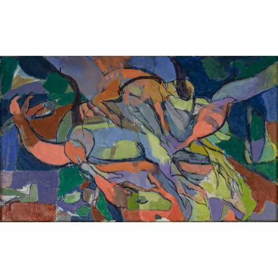 "SCHRICKER, KARL (1912-2006), ""Abstract figure composition"", - photo 1"