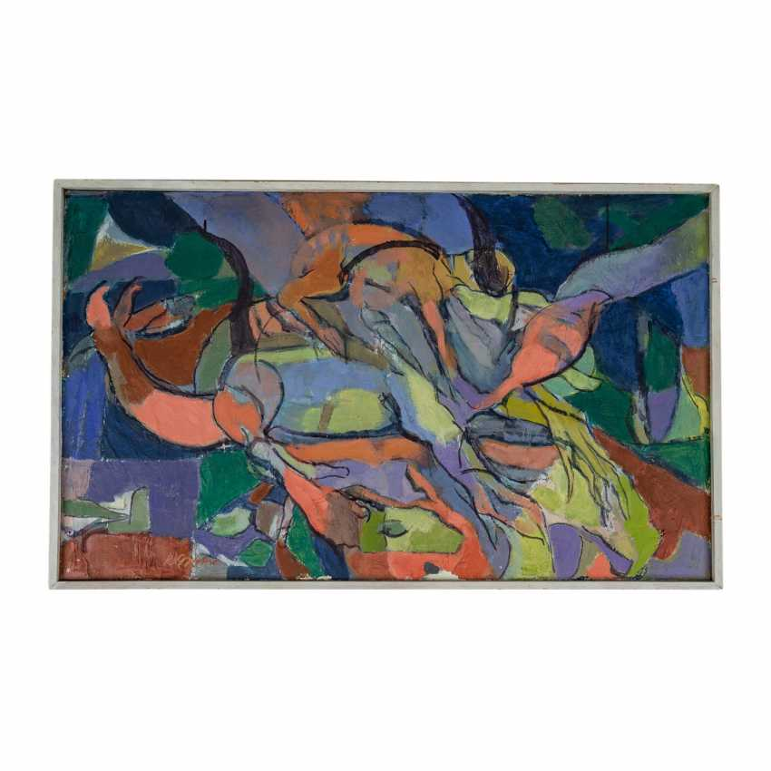 "SCHRICKER, KARL (1912-2006), ""Abstract figure composition"", - photo 2"