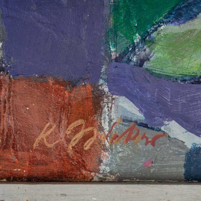 "SCHRICKER, KARL (1912-2006), ""Abstract figure composition"", - photo 3"