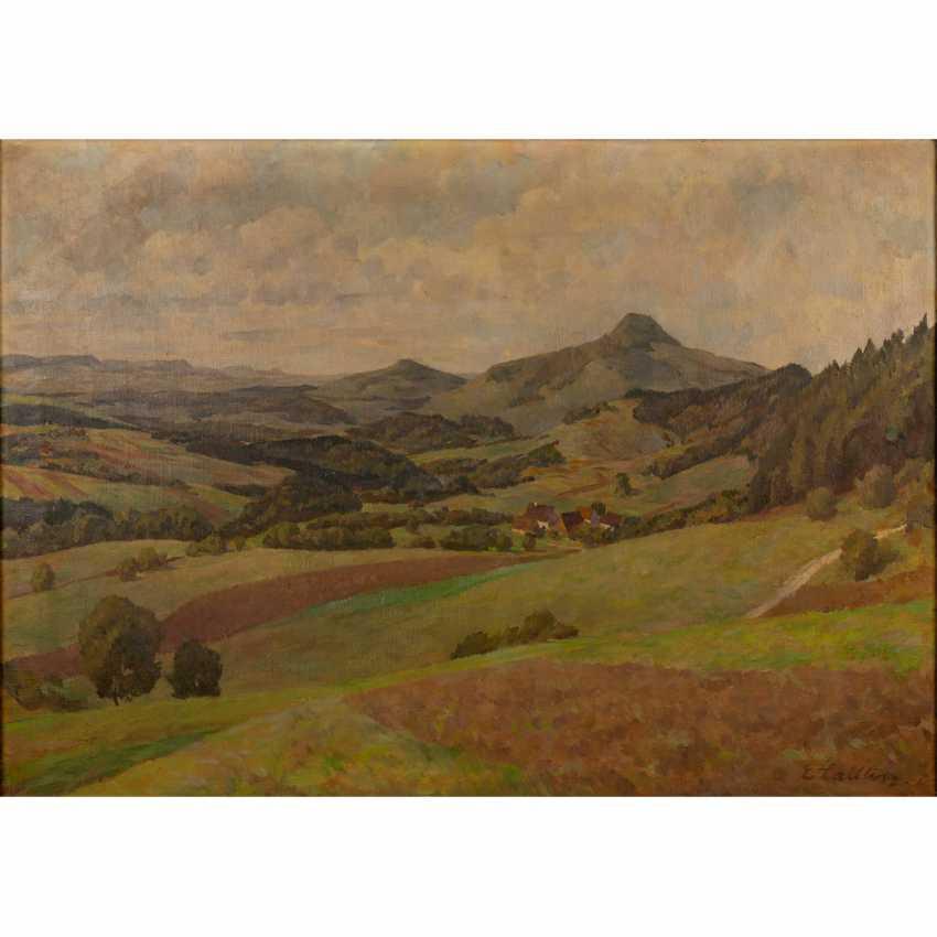 "LAIBLIN, ERWIN (Stuttgart, 1878-?), ""The Swabian Alb"", - photo 1"