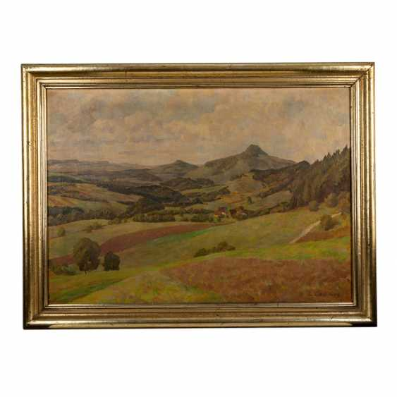 "LAIBLIN, ERWIN (Stuttgart, 1878-?), ""The Swabian Alb"", - photo 2"