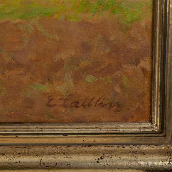 "LAIBLIN, ERWIN (Stuttgart, 1878-?), ""The Swabian Alb"", - photo 3"