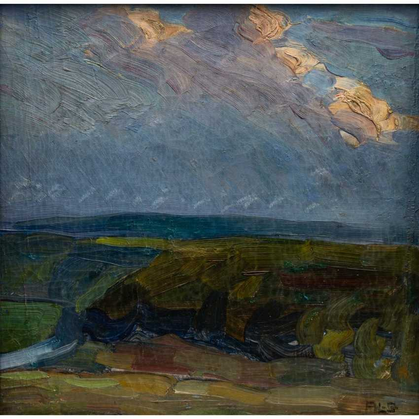 "SCHMITT, AUGUST LUDWIG (Appenmühle/Karlsruhe 1882-1936 Stuttgart), ""landscape"", - photo 1"